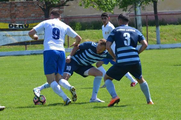 Au mai rămas doi pași: Victoria Felnac – Șoimii Lipova 0-4