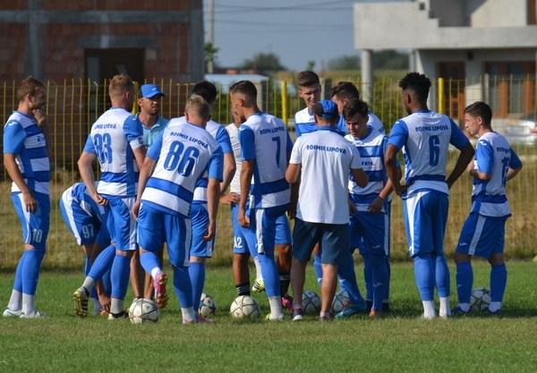 Șoimii Lipova – CS U Craiova II, 2-3, final