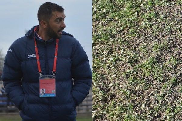 """Sabău a anticipat problemele cu gazonul din Caransebeș: """"Am optat pentru un prim 11 mai atletic și am câștigat fără probleme"""""""