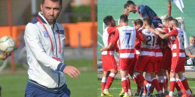 """Lipova a terminat a doua, pe loc de baraj, prima parte a sezonului în Liga 3-a: """"A contat mult spiritul de echipă, în schimb am avut probleme în atac"""""""